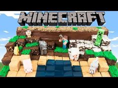 How to Make a Minecraft Cake from Cookies Cupcakes and Cardio - YouTube