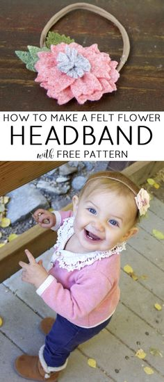 How To Make A Felt Flower Headband » Jessie K Design