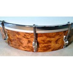 Build Your Own Shackleton Burr Oak Banjo made by The Great British Banjo Company Ltd in #Norfolk