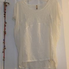 Free People Tops - Lace shirt