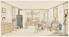http://images.collection.cooperhewitt.org/25735_4526453dde252f6b_b.jpg Prussian officer's quarters circa 1830