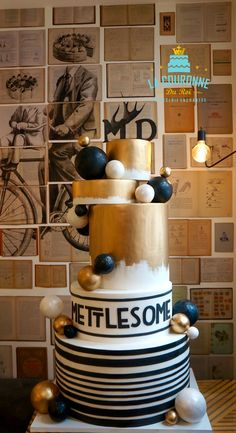 Corporate cake design