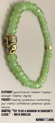 #Elephants are generally considered a symbol of good luck and good fortune. ♛ #BEADED #Yoga #Charm #BRACELETS #Mens #Good #Luck #womens #Jewelry #Fertility #Eckhart #Tolle #Crystals #Energy #gifts #Chakra #Healing #Kundalini #Law #Attraction #LOA #Love #M