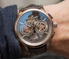 Maurice Lacroix Masterpiece Chronograph Skeleton Watch Hands-On