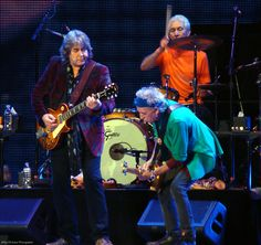 Mick Taylor with Keith getting down. Charlie is wailing in the background.