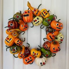 Just brought @mypapercrane wreath out I made last year following Heidi's tutorial on it. She just posted another tutorial on some cute jar toppers with these gourd guys on her blog. Thanks for the inspirations! I need to get my craft on going again