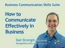Simply one of the most pragmatic, down to earth, and complete courses on how to communicate better in business on the Market.   Problem:   Feeling tired, stressed, confused, powerless, betrayed, resentful or angry at work? Chances are not quite perfect communication has something to do with it. Poor communication in organizations is like a vampire that sucks out resources,  leaving behind:    Confusion,    Infighting,    Power games,    Resentment,  ...    ... #onlinetraining #communication