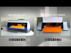 Silver Bullet vs Silhouette Cameo Cutting Speed - YouTube