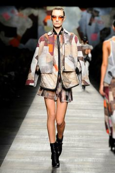 Fendi Fall/Winter 2014-15 Collection - Look 38