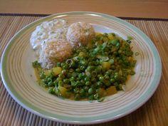 Mattar Masala | Erbsen und Kartoffeln indisch