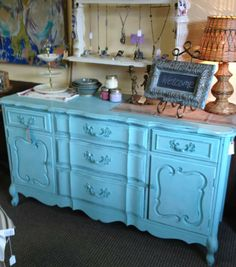 Dresser painted by Farmhouse Inspired – Surfboard