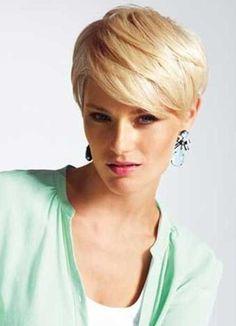 Nice short blond