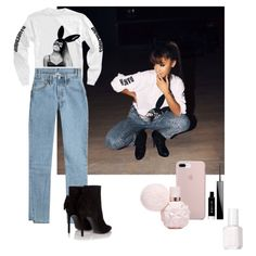 """2016 Ariana grande Outfit with her sweat-shirt """"dangerous woman"""""""