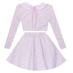 Sweet Rosebuds Sailor Scout 2 Piece Dress