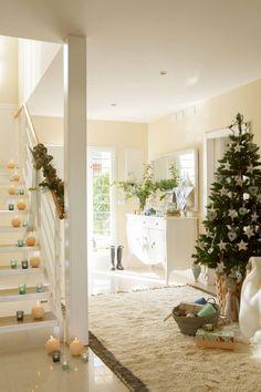 00374466 O. Crea focos de atención navideños Ideal Home, New Homes, Table Decorations, Christmas, Inspiration, Furniture, Houses, Home Decor, Style