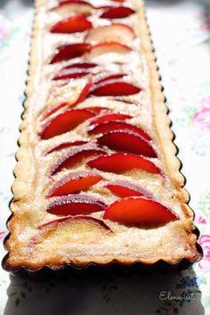 Elena isst ... Kochen und Backen mit Leidenschaft!: Pflaumentarte