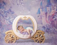 Moon Photo Prop Newborn Photography Prop Moon by MrAndMrsAndCo