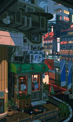 Aesthetic Japan, Aesthetic Art, Aesthetic Anime, Aesthetic Backgrounds, Aesthetic Iphone Wallpaper, Aesthetic Wallpapers, Anime Scenery Wallpaper, K Wallpaper, Animes Wallpapers