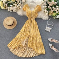 Modest Dresses, Stylish Dresses, Simple Dresses, Casual Dresses, Summer Dresses, Floral Dress Outfits, Holiday Dresses, Cute Casual Outfits, Pretty Outfits