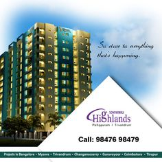 Ongoing Residential Project Highlands Apartment : View Ongoing Residential 2 bhk and 3 bhk Project in Trivandrum.    http://www.sowparnika.com/highlands | sowparnikagroup
