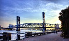 main street bridge- jacksonville florida.