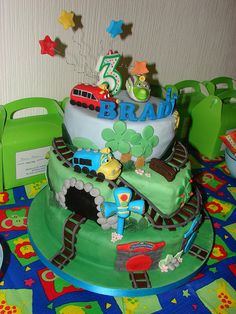 chuggington cake by Your cake dreams, via Flickr