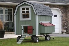 Amish Barn Chicken Coop – http://www.shedsunlimited.net/store/product-category/amish-built-barn-chicken-coops/