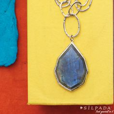 COLOR CRUSH: Wild Blue Yonder Necklace