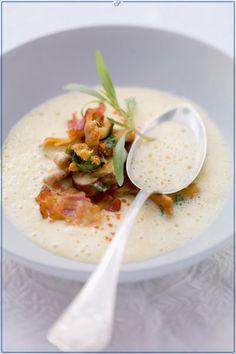 Schuhbecks Kartoffelsuppe mit Pilzgröstl