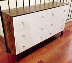 Savvy and Savory: Ikea Hack Part 2 - Matching Dresser