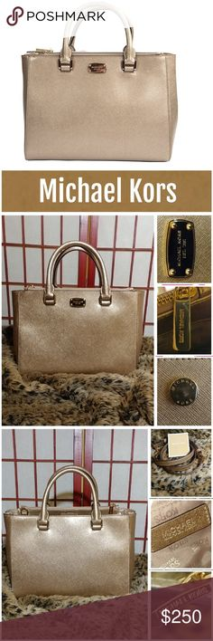 nwt michael kors kellen satchel create a perfectly polished look with this chic and versatile