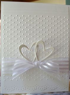 Browse 25 card making tutorials for beautiful handmade wedding cards. These DIY cards are perfect for any happy couple on their big day! Wedding Cards Handmade, Greeting Cards Handmade, Handmade Engagement Cards, Wedding Gifts, Simple Wedding Cards, Wedding Day Cards, Personalized Wedding, Wedding Favors, Wedding Decorations