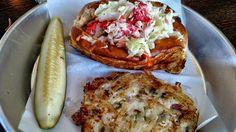 Fahlstrom's Alaskannking crab roll