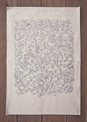 City tea towel by Brian Everett