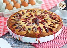 [ TARTE BRIOCHÉE AUX PRUNES ]  Pour une association gourmande et fruitée, rien de mieux que cette tarte briochée aux prunes ! On vous prévient, il sera impossible d'y résister !