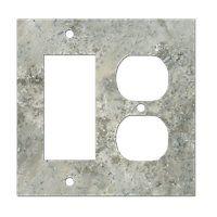 Claros Silver Rocker Switchplate Master Bathroom Ideas