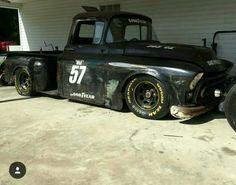 NASCAR themed 1957 Chevy Truck