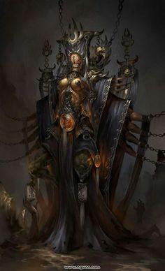 Oriental undead merchant