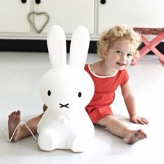 nubie Large Adorable Miffy Lamp