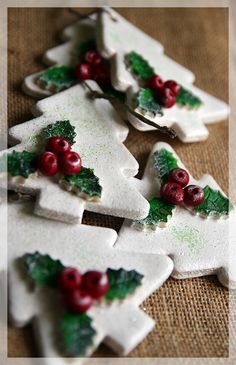 Salt Dough Christmas Tree