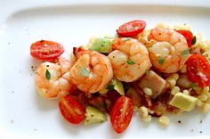 Summer Shrimp & Corn Salad: I've made this multiple times and it's a delicious and refreshing dish!