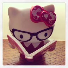 Nerd Kitty. I need this!!!!