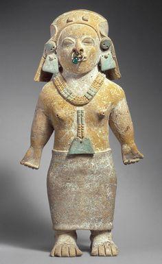 Standing figure [Ecuador; Jama Coaque] (1980.34.38a) | Heilbrunn Timeline of Art History | The Metropolitan Museum of Art
