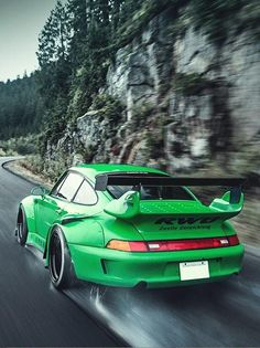 RWB Porsche....the day I buy one, this ones in my top 5 list of choices . love the color on this Beauty