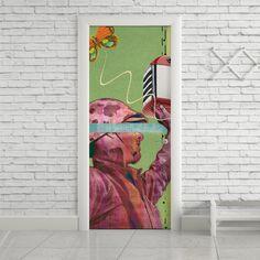 Adesivo de porta soldado - StickDecor | Decoração Criativa
