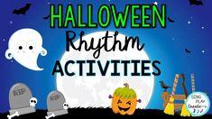 Movement Activities, Music Activities, Music Games, Elementary Music Lessons, Halloween Music, Music And Movement, Music Classroom, Teaching Music, Music Education