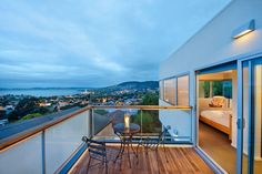 Library House Award Winning Luxury, a Hobart Guest House Tasmania Hobart, House Viewing, Australia Hotels, Coastal Homes, Best Hotels, Family Room, Beautiful Places, Patio, Luxury