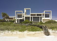 Paul Rudolph the House for Mr. & Mrs. Arthur W. Milam at Ponte Vedra Beach in Jacksonville, Florida, 1959-61
