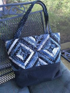 Diagonal stripe tote bag 4x4 5x5 6x6 in the hoop machine embroidery design. Bonus 7x7 quilt block design.