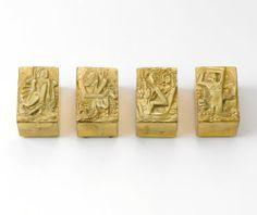 """Line Vautrin, Four """"Les Filles de Zeus"""" Boxes"""
